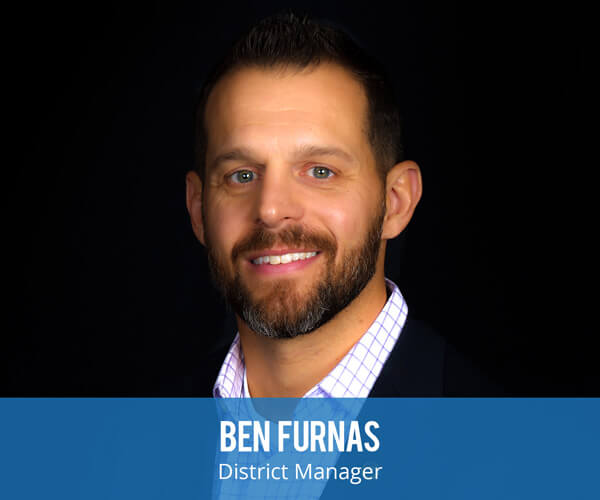 Ben Furnas is the district manager over Las Vegas which offers services in preconstruction, exterior wall systems, interior walls and ceilings, metal decking, spray fireproofing and roofing.