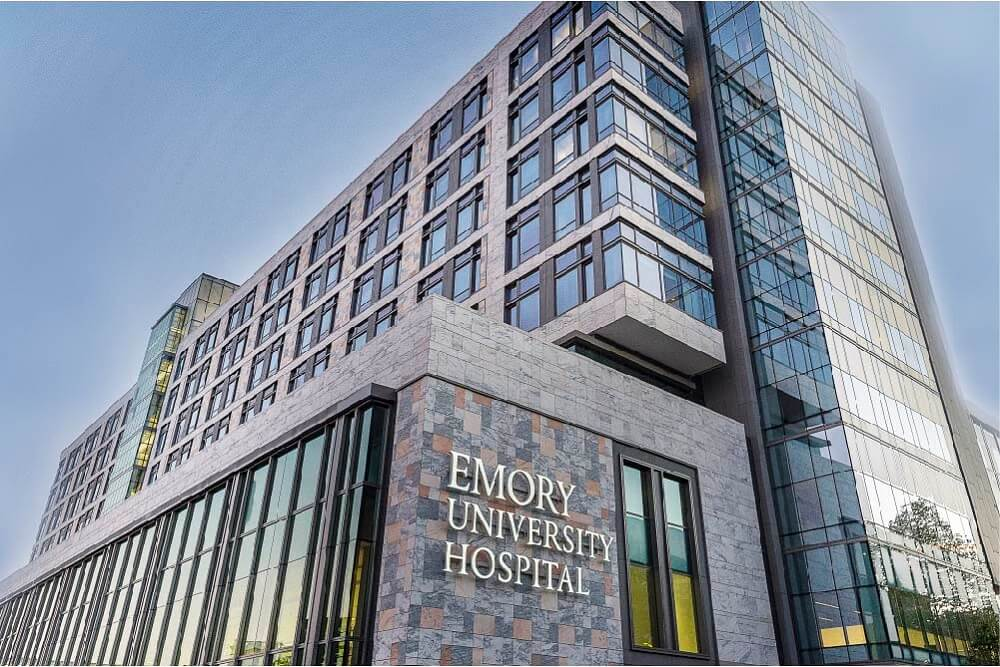Emory University Hospital J Wing Anning Johnson Company
