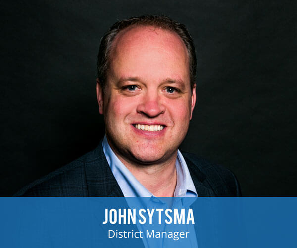 John Sytsma is the Northern California area district manager for Anning-Johnson Company.