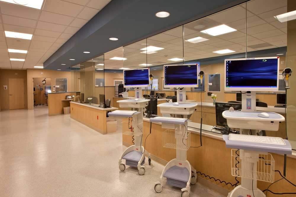 Inside Sentara's healthcare offices in Washington D.C.