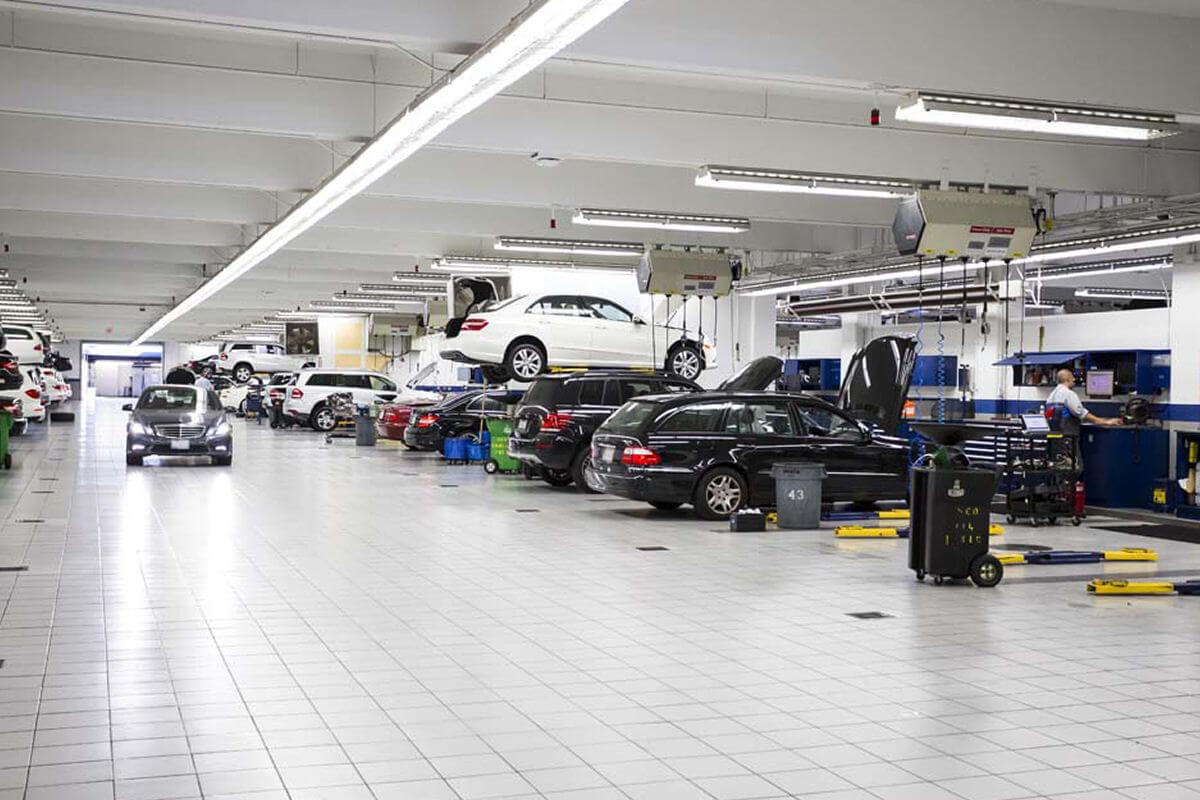 Fletcher Jones Audi service center in Beverly Hills