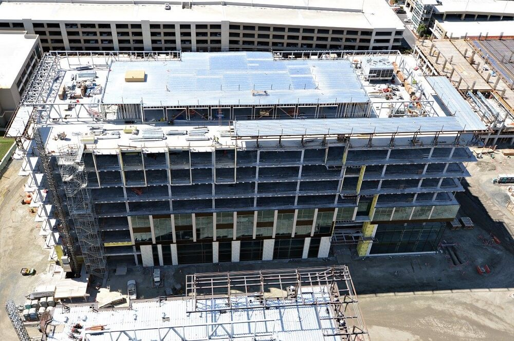 Construction well underway at Moffett Place Campus in Northern California