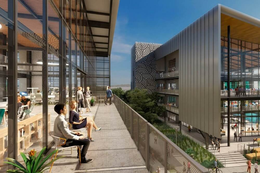 Rendering of Flight at Tustin Legacy balcony