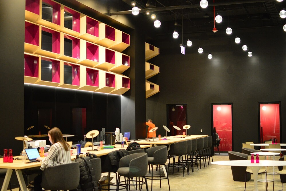 Convene Chicago is a coworking and event space offering tenants flexible rental options.