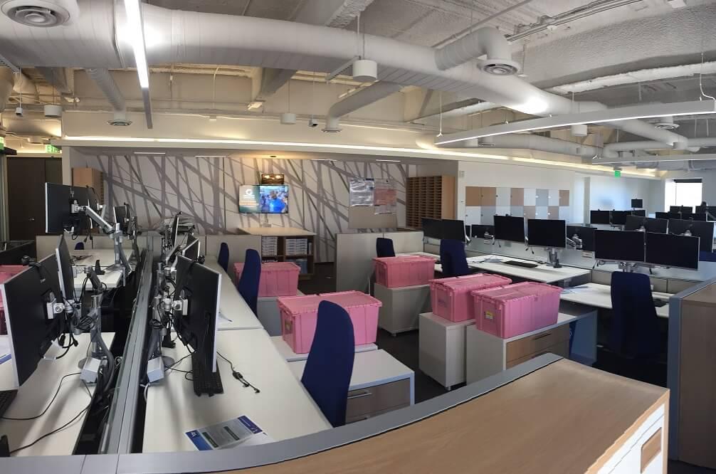 Inside Georgia Pacific's corporate offices in Atlanta, GA