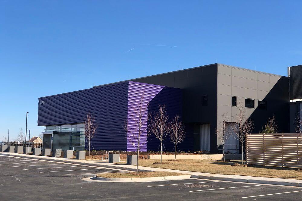 Exterior shot of Ashburn VA3 Data Center for Raging Wire in Washington D.C.